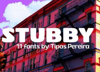 Stubby Font Family