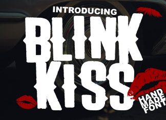 The Blink Kiss Font