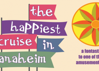 The Happiest Cruise in Anaheim Font
