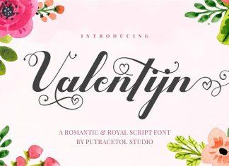 Valentijn - Romantic Font