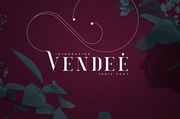 VENDEE - Serif Font