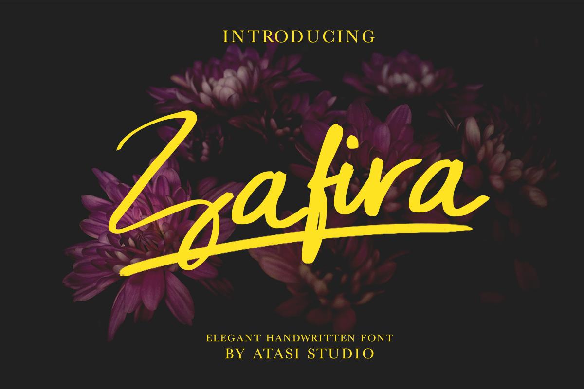 Zafira Handwritten Font