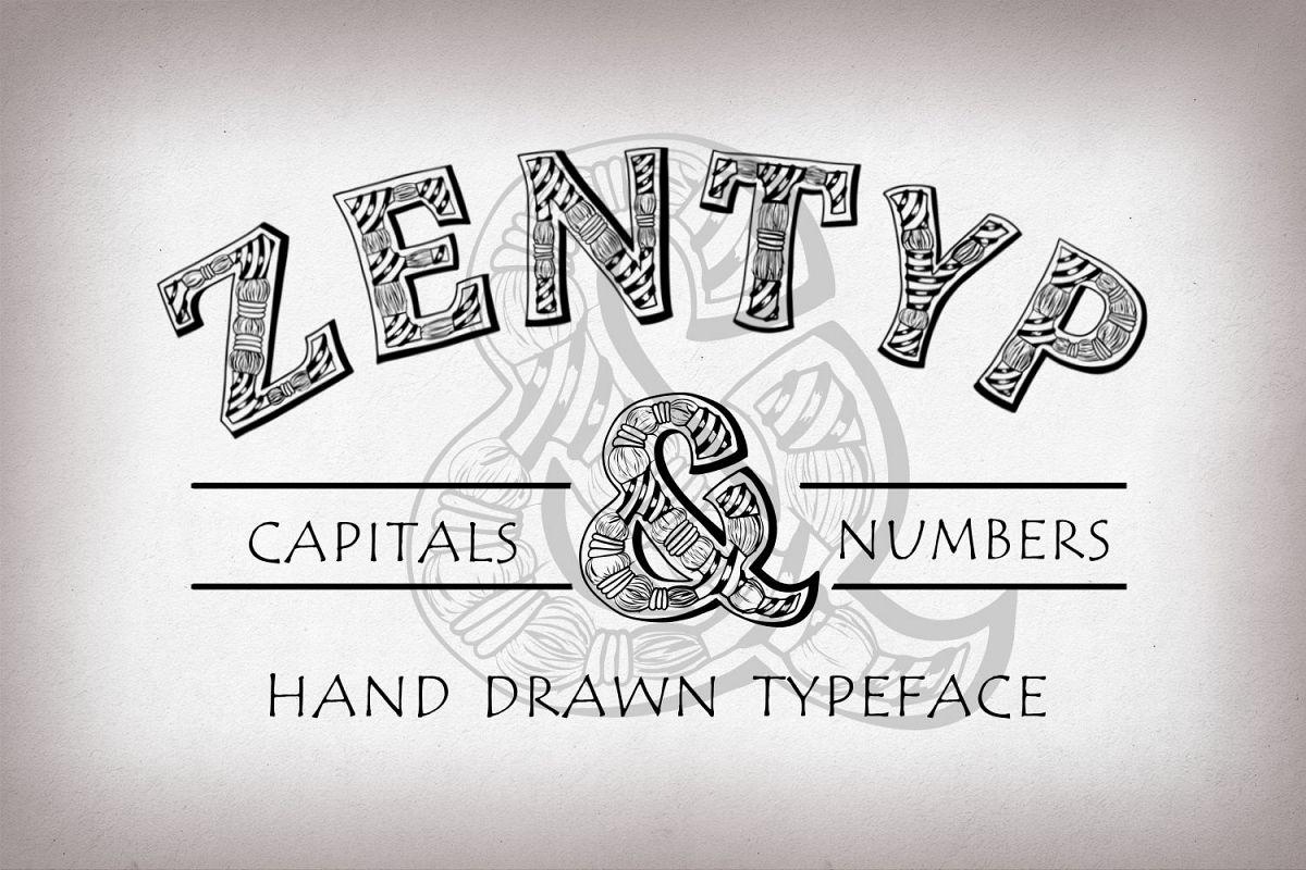 Zentyp font Other Font