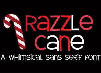 ZP Razzle Cane Regular Font