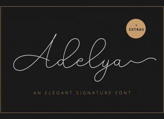 Adelya - Elegant Signature Font