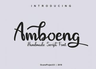 Amboeng Font