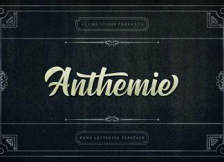 AnthemieScript Font