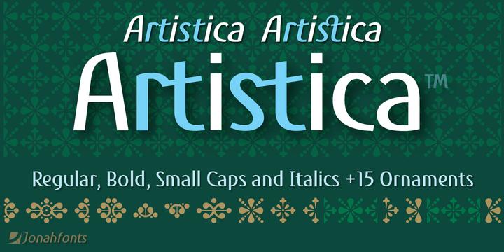 Artistica Font Family