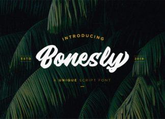 Bonesly Font