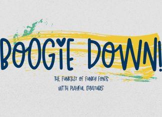 Boogie Down! Handlettered Sans Font