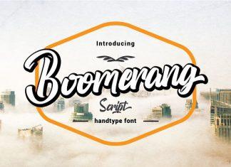 Boomerang Script Font
