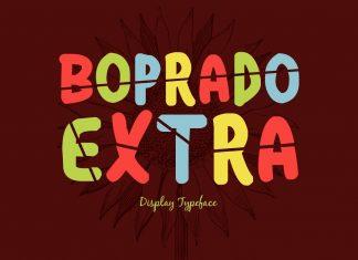 Boprado Extra Regular Font