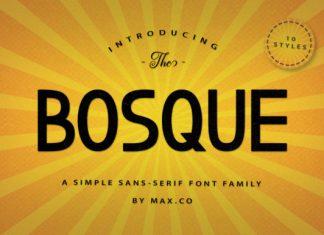 Bosque Family Font