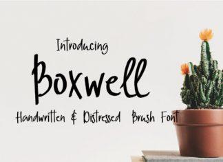 Boxwell Font