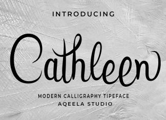 Cathleen Script Font