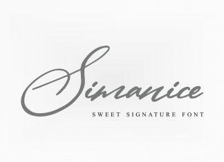 CM - Simanice Font