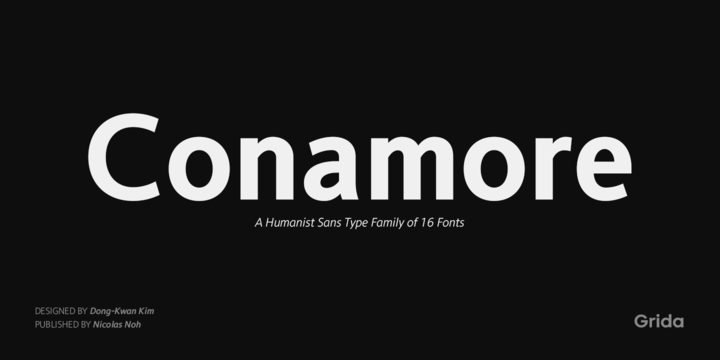 Conamore Font Family