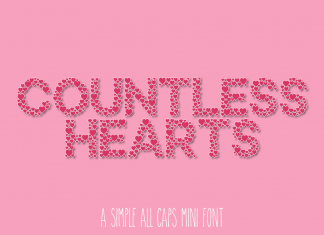 Countless Hearts - A Simple Love Font Regular