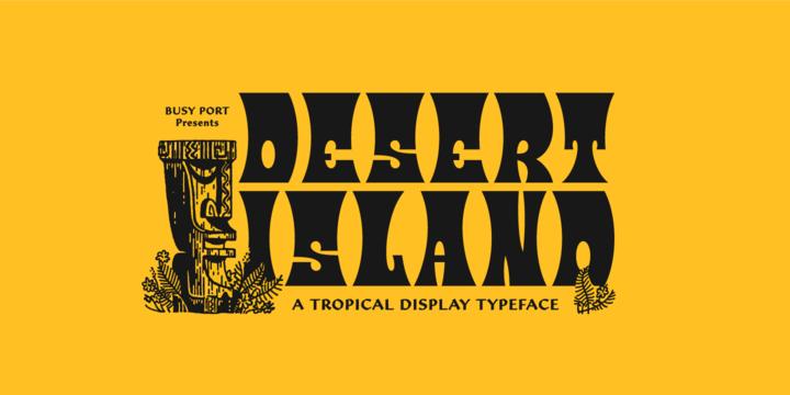 Desert Island Font