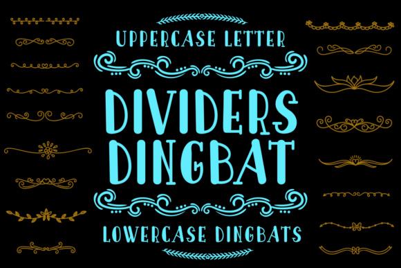 Dividers Dingbat Font
