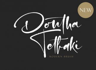 Dontha Tethaki Font