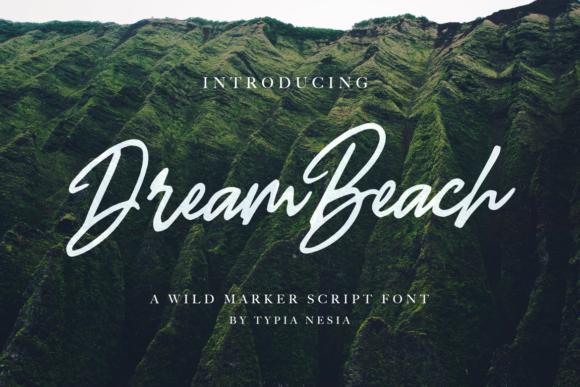 Dream Beach Font