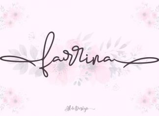Farrina - Beautiful Script