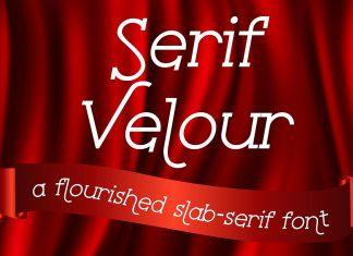 Fontbundles - Serif Velour Font