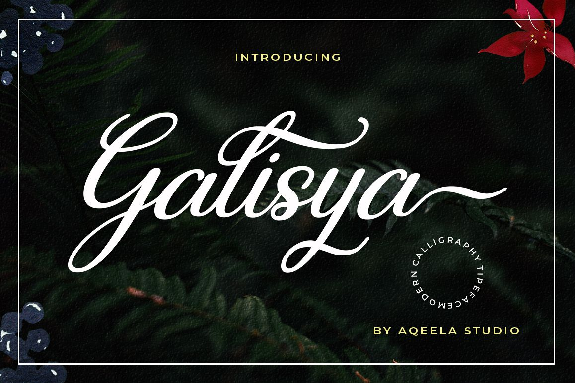 Galisya Script Font