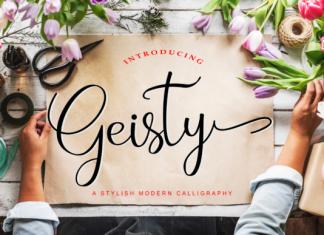Geisty Font