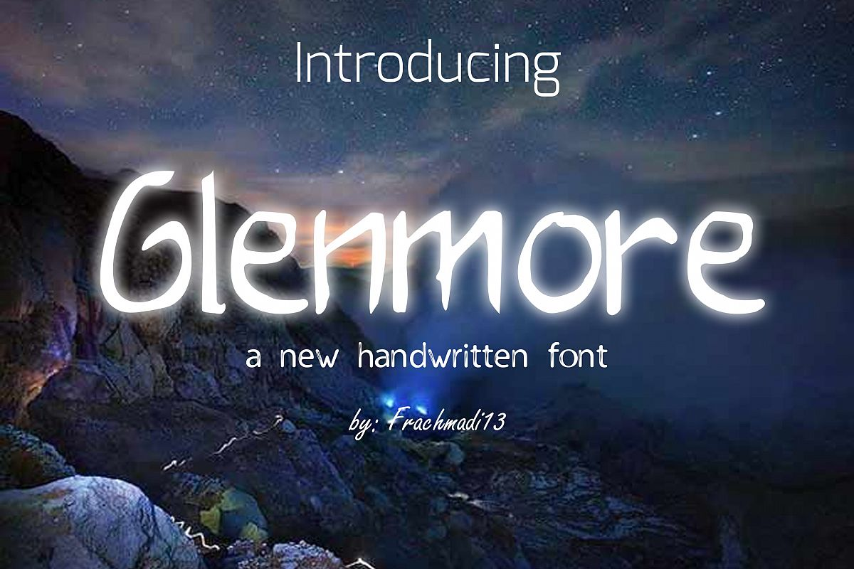 Glenmore Other Font