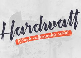 Hardwatt Font
