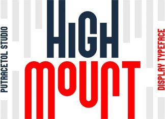 High Mount Font
