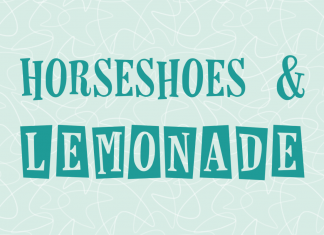 Horseshoes & LemonadeRegular Font