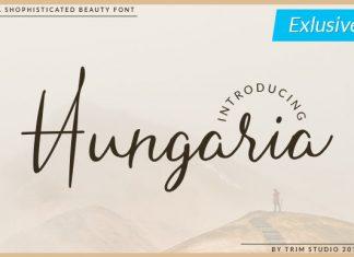 Hungaria Font