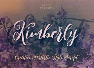 Kimberly Script Font