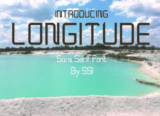 Longitude Font