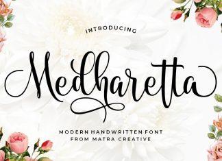 Medharetta Script Font