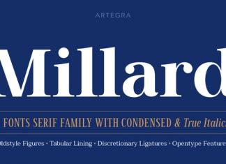 Millard Font Family