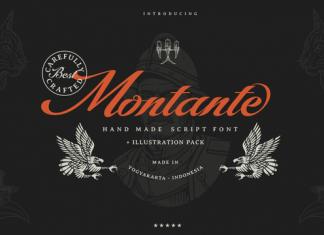 Montante Font Family