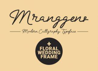 Mranggens Font