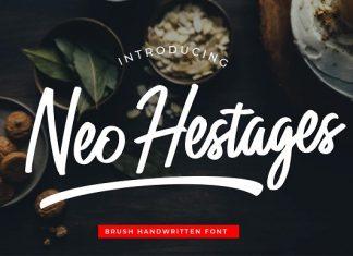 Neo Hestages Font