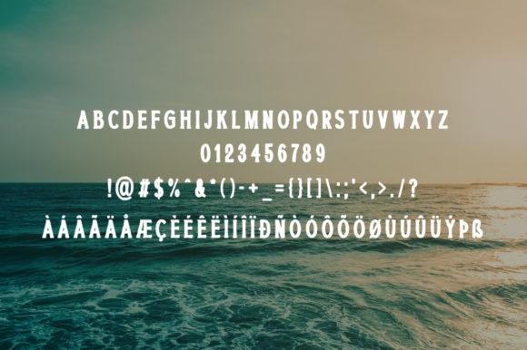 Ocean Paradise Font