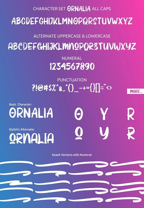 Ornalia Display Font