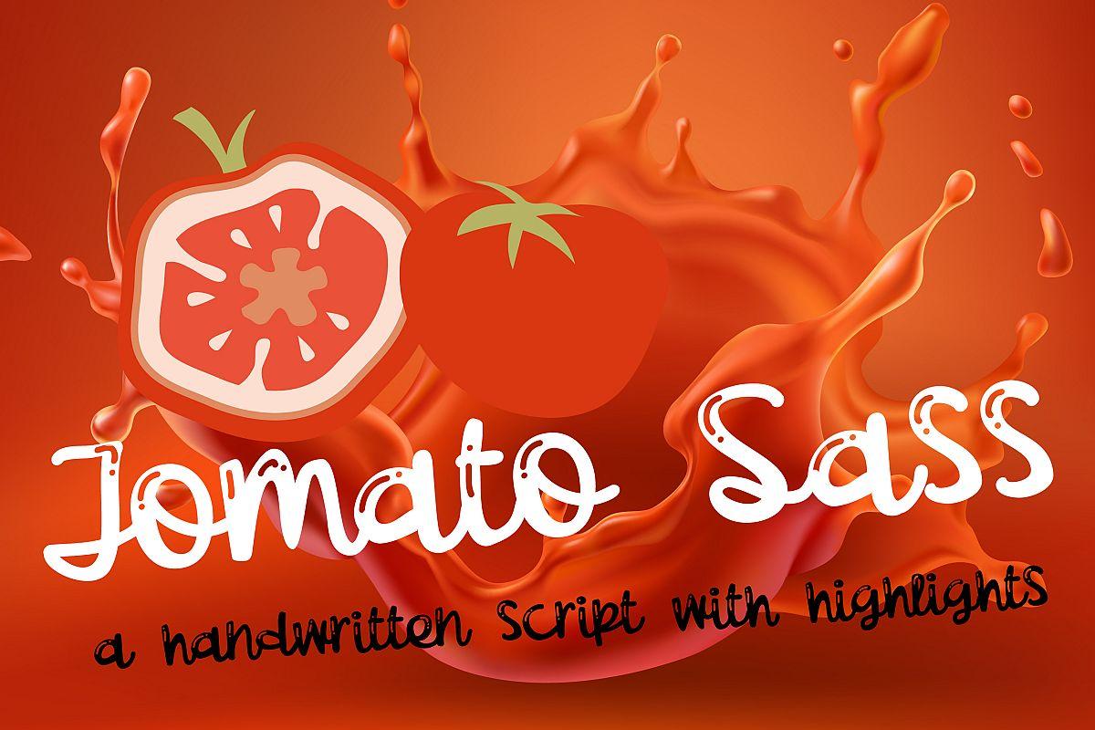 PN Tomato SassScript Font