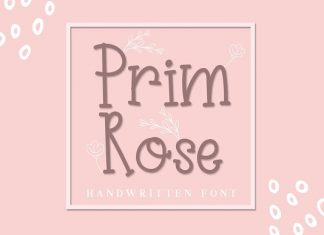 Prim Rose - Lovely Handwritten+EXTRA