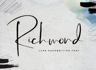 Richmond Luxury Font
