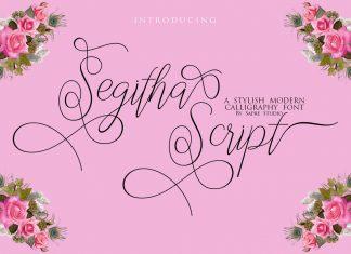 Segitha Script Font