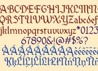 SJCRecord Font