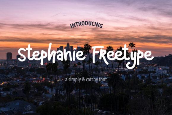 Stephanie Freetype Font